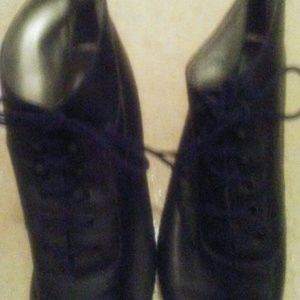 Ankle boots leather black